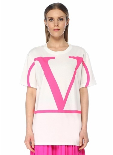 Valentino Tişört Pembe